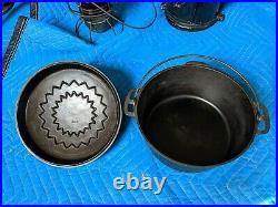 Wagner Ware Cast Iron Drip Drop Dutch Oven 7 Roaster