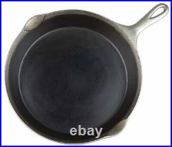 Wagner Ware Plated No 9A Cast Iron Skillet withHeat Ring Excel Restored Condition