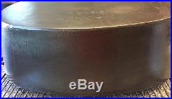 Wagner Ware Sidney O Cast Iron Oval Roaster #9 with lid Rare