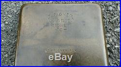 Wagner Warm Over Pan Scarce Wagner Cast Iron Pan Old Warm Over Cast Iron Skillet