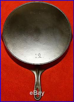 Wagner cast iron # 12 Skillet