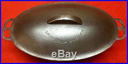 Wagner cast iron Oval Roaster # 1