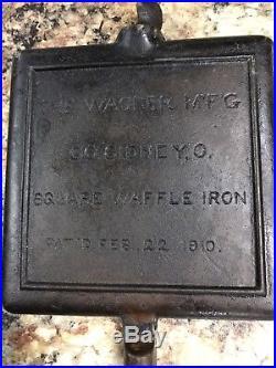 Wagner high Base Waffle Iron