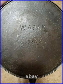 Wapak 716A #10 with Ghost Erie Skillet