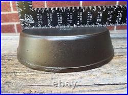 Wapak High Grade Hollow Ware #8 / 10 Indian Head Cast Iron Skillet, restored
