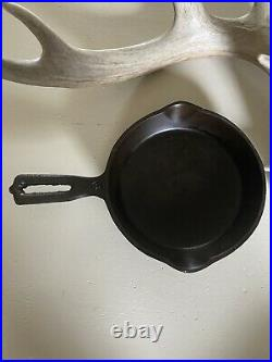 Wapak Indian Head Hollow Ware Cast Iron Skillet #3 (collector Quality)
